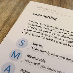Goal Setting - Professional Development | Leadership Skills