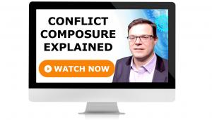 Video Conflict Composure Explained - Professional Development - Leadership Skills