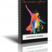 Leadership Journal 3D Cover - Professional Development | Leadership Skills