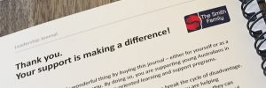 Leadership Journal - Australia - Diary - Leadership Skills - Professional Development - Personal Development - Support The Smith Family