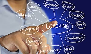 Coaching Concept - Professional Development - Leadership Skills - Coaching and Mentoring
