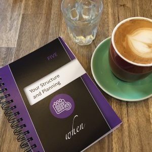 Leadership Journal - Australia - Diary - Leadership Skills - Professional Development - Personal Development - Structure and planning with coffee cup