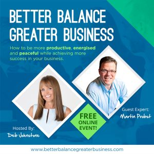 Better Balance Greater Business Interview with Martin Probst PROfound Leadership