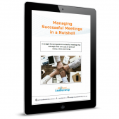 Managing Successful Meetings Cover - Meeting Room Tactics - Leadership Skills - Professional Development