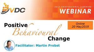 2019 VDC Webinar - Behavioural Change - Professional Development - Leadership Skills - LND - Learning & Development