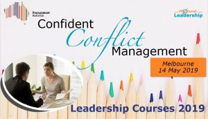 Procurement Australia Workshop - Confident Conflict Management - Leadership Skills - Leadership Courses
