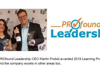 2019 ALIA Award Winner – Press Release