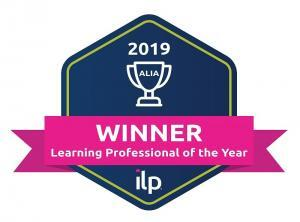 Award Badge Learning Professional of the Year - Cropped