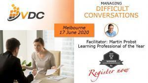 VDC Workshop - Managing Difficult Conversations - Conflict Management - Full Day - Professional Development VET TAFE