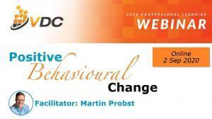 VDC - VET Development Centre - Webinar Behavioural Change - Professional Development - Leadership Skills