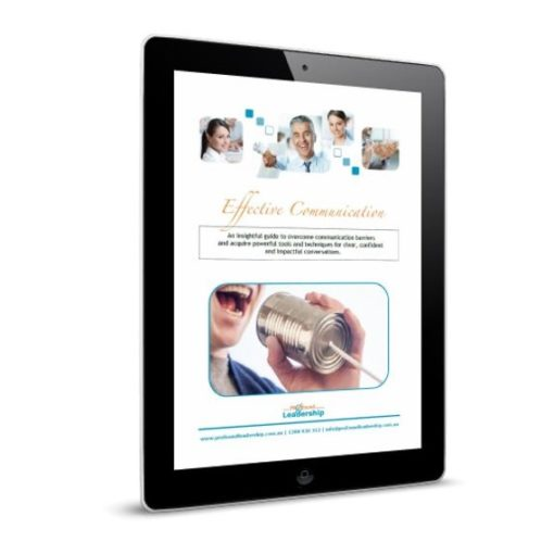 iPad_Effective Communication - Cover image - Leadership skills - Professional Development - Leadership Development - PDF Download - Ebook - Resources